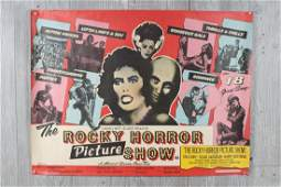 Rocky Horror Picture Show British Quad Poster