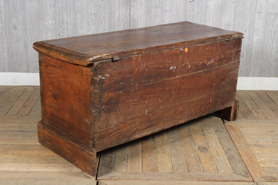 Chip Carved Anglo Indian Chest - 4
