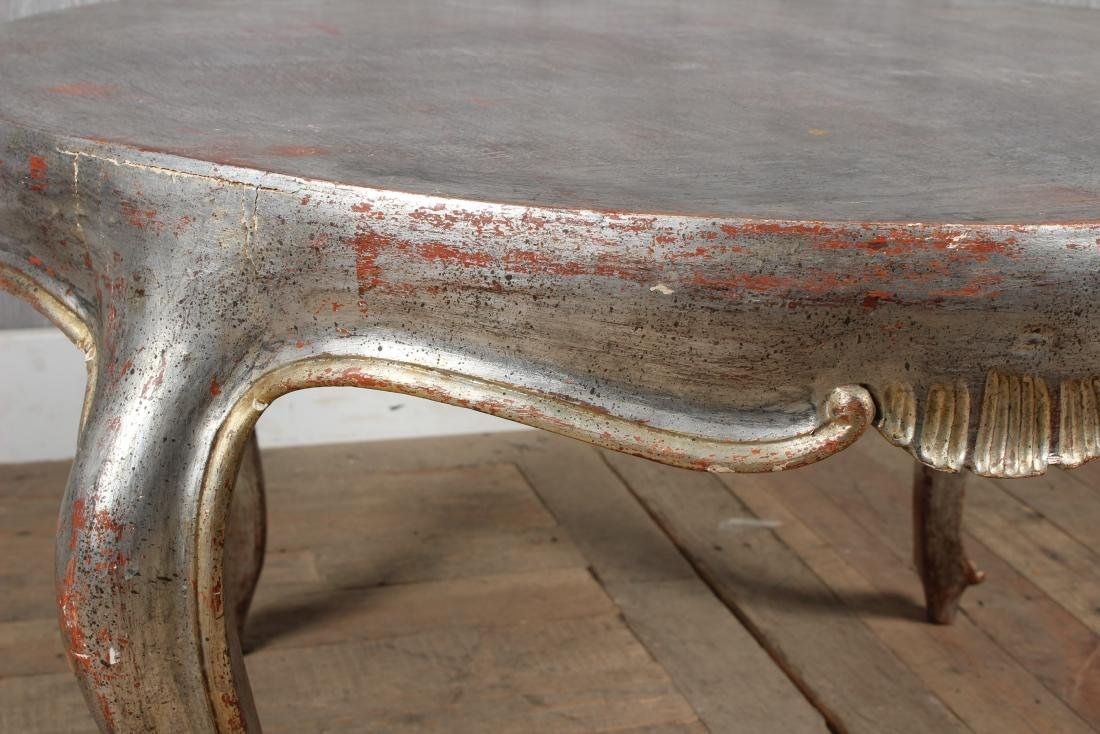 French Silver Gilt Coffee Table - 2