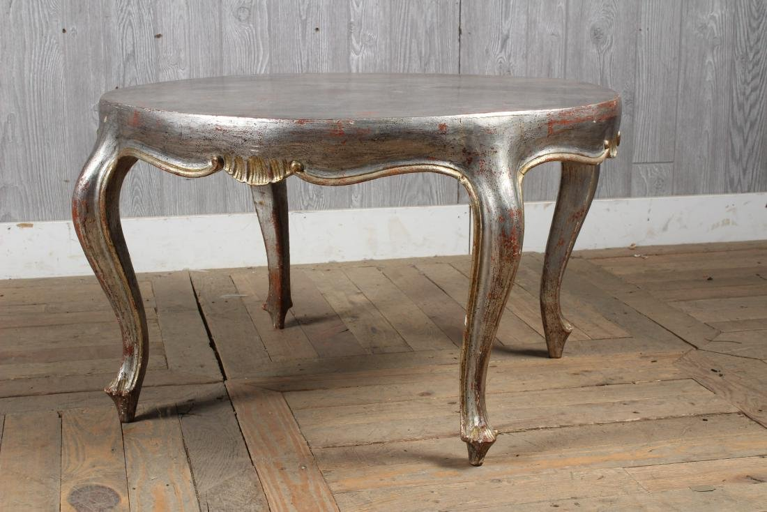 French Silver Gilt Coffee Table - 3