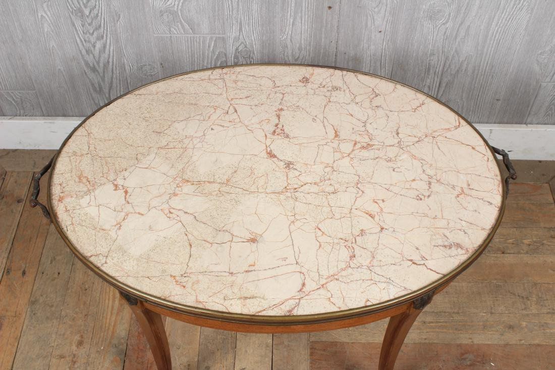 French Louis XV Style Side Table - 2
