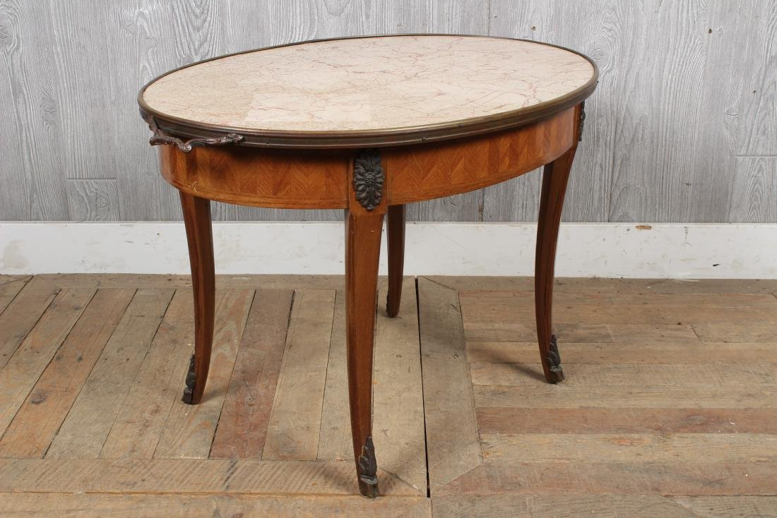 French Louis XV Style Side Table - 3