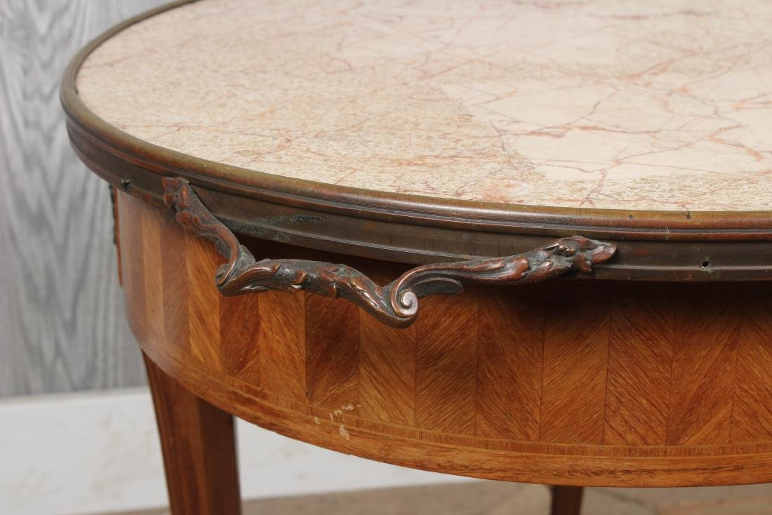French Louis XV Style Side Table - 4