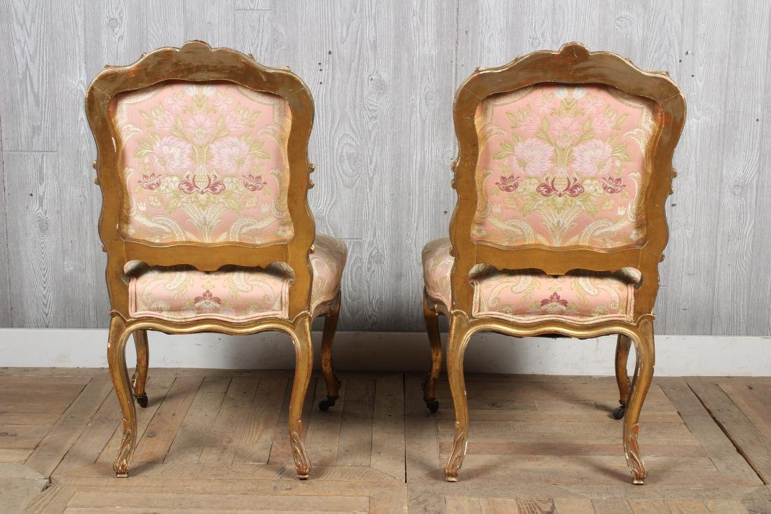 Pr. 19th C. French Louis XV Side Chairs - 3