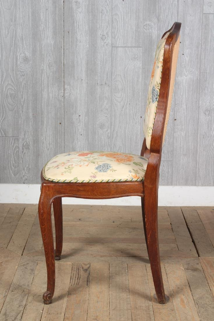 8 French Louis XV Style Dining Chairs - 4
