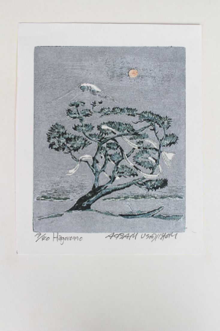 Hagoromo Japanese Woodblock Print