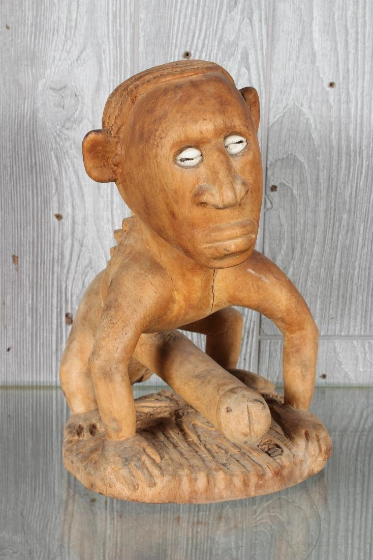 Oceania Carved Wood Fetish