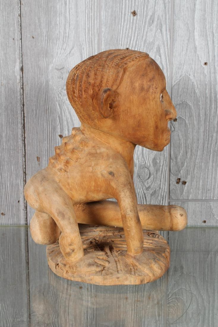 Oceania Carved Wood Fetish - 2