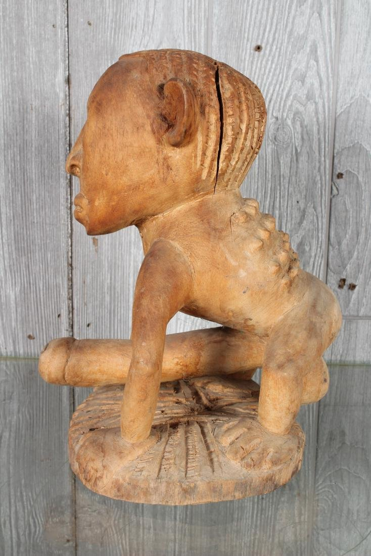 Oceania Carved Wood Fetish - 3