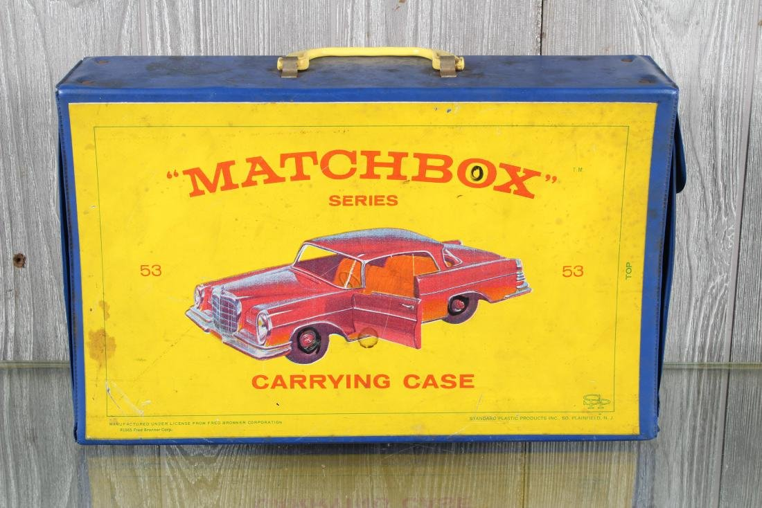 Matchbox by Lesney Cars in Carrying Case