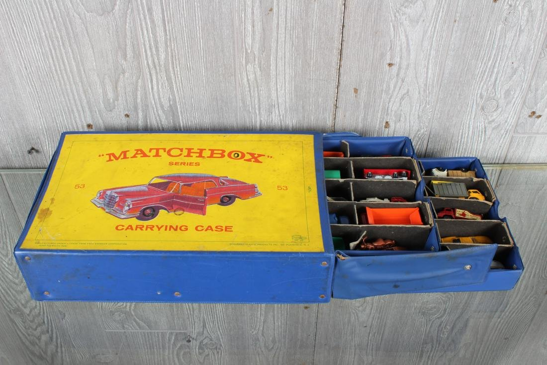 Matchbox by Lesney Cars in Carrying Case - 2