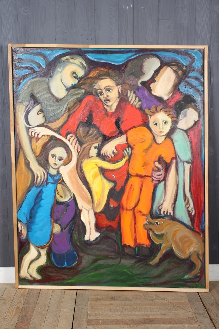 Unknown Artist. Modern Fauvist Style Painting.