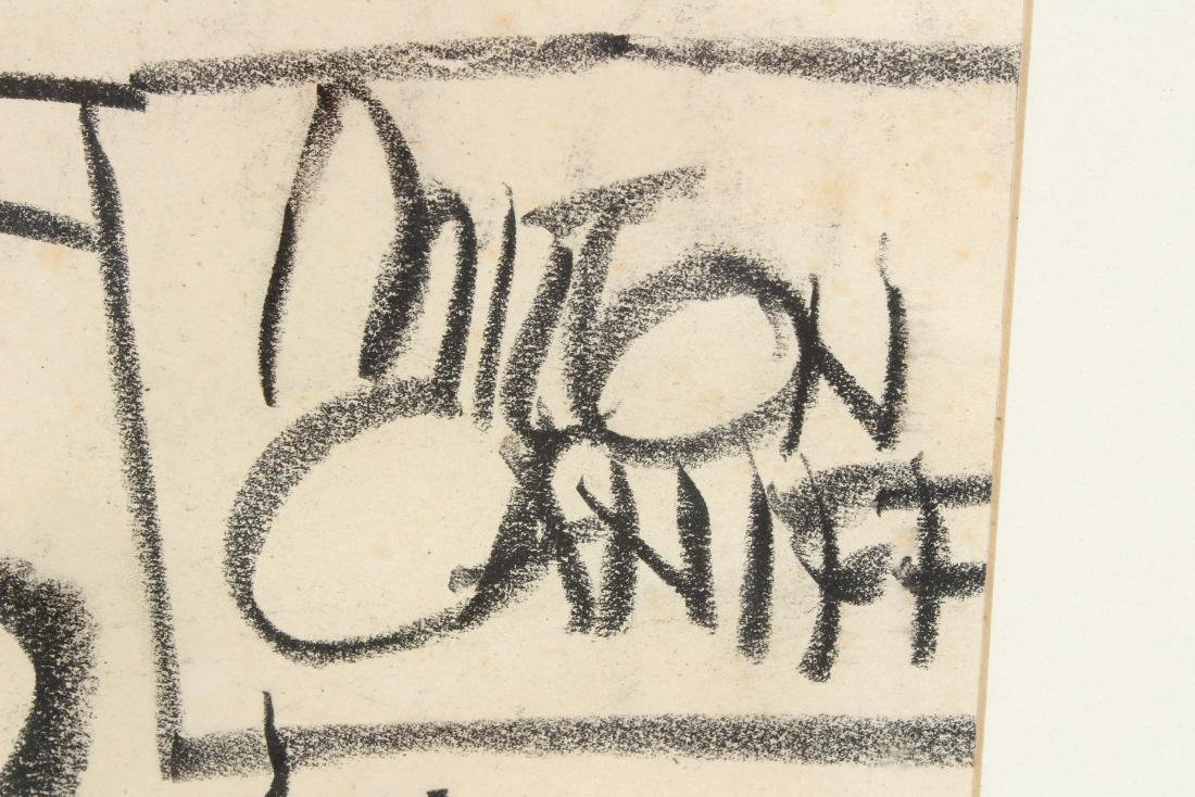 Milton Caniff Dog Drawing - 2
