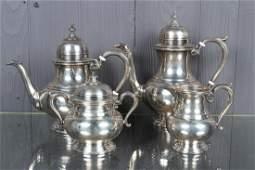 Wallace Sterling Silver 4 Piece Tea Set