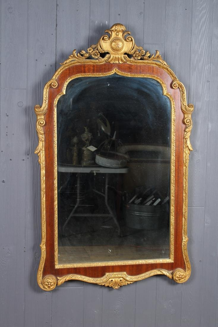 French Carved and Gilt Mirror