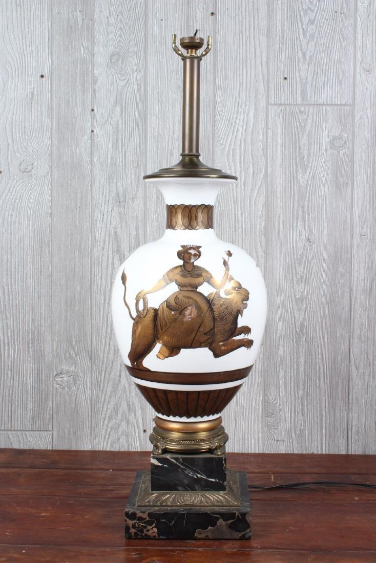 Ginori Style Table Lamp