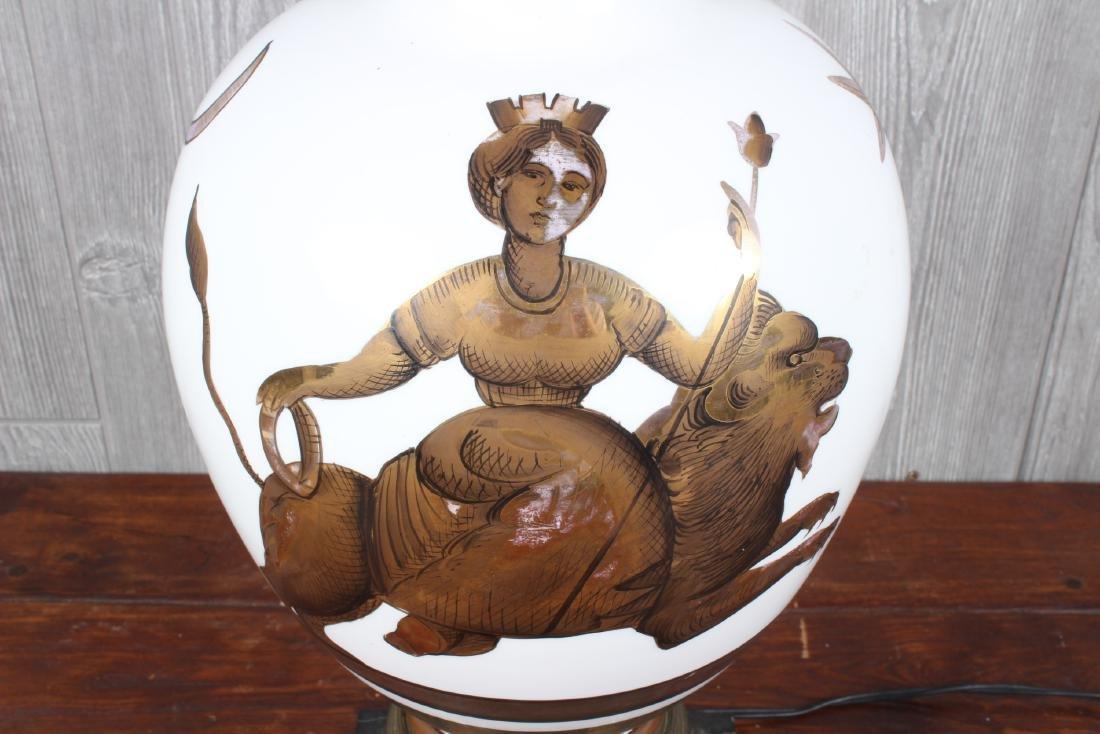 Ginori Style Table Lamp - 2