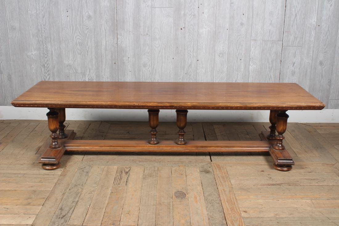 Jacobean Revival Long Bench
