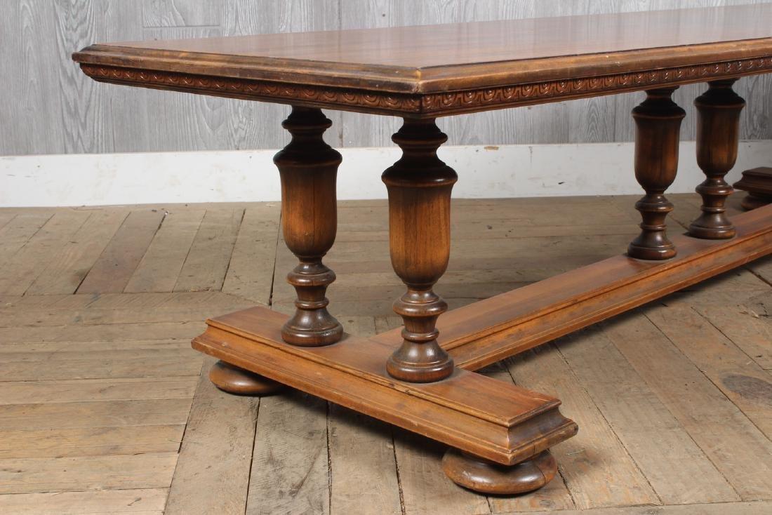 Jacobean Revival Long Bench - 4