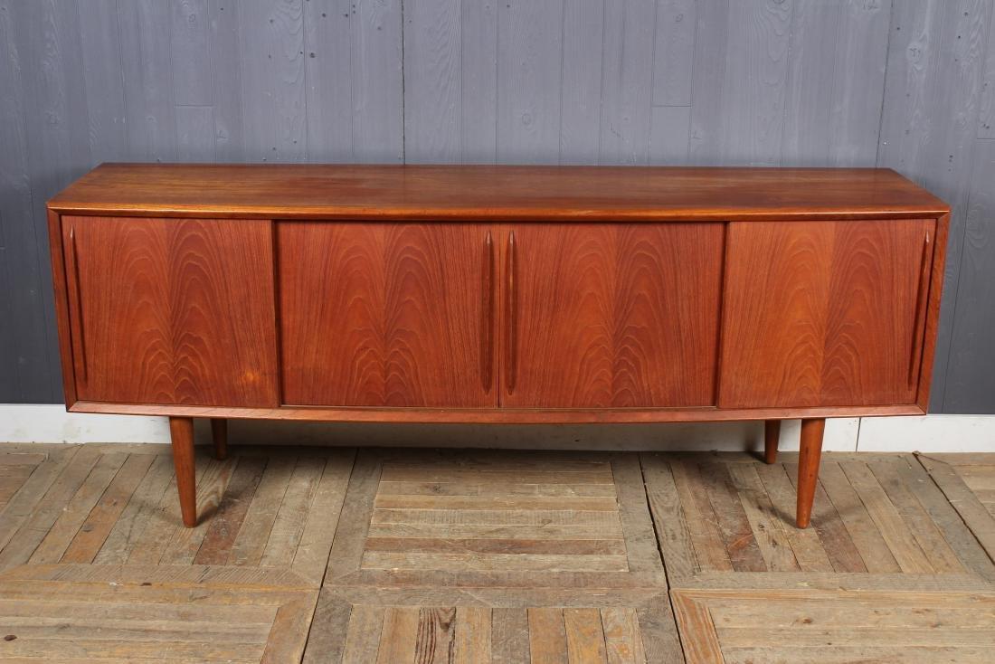 Danish Design Credenza : Danish design teak and rosewood credenza gp farum