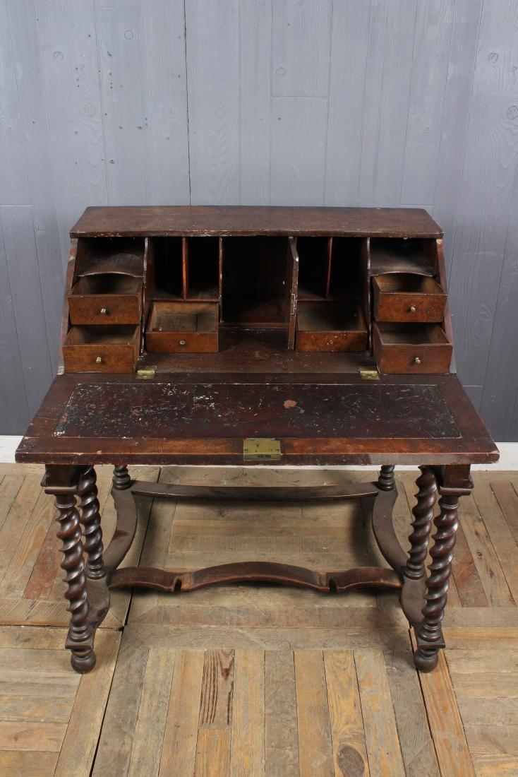 Continental Slant Front Secretary Desk - 3