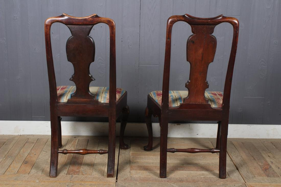 2 Similar Queen Anne Style Side Chairs - 3