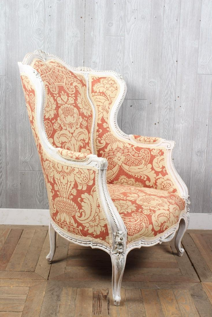 Louis XV Style Wingback Bergere