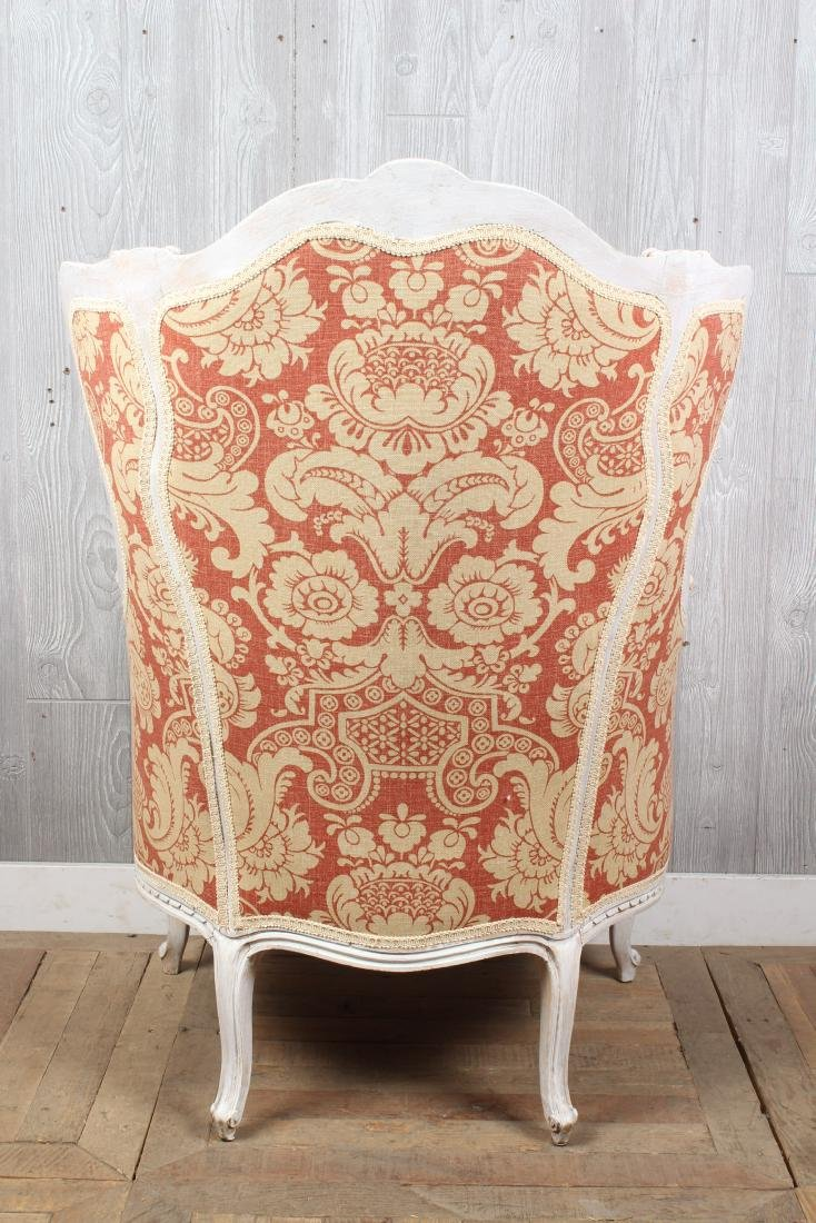 Louis XV Style Wingback Bergere - 3