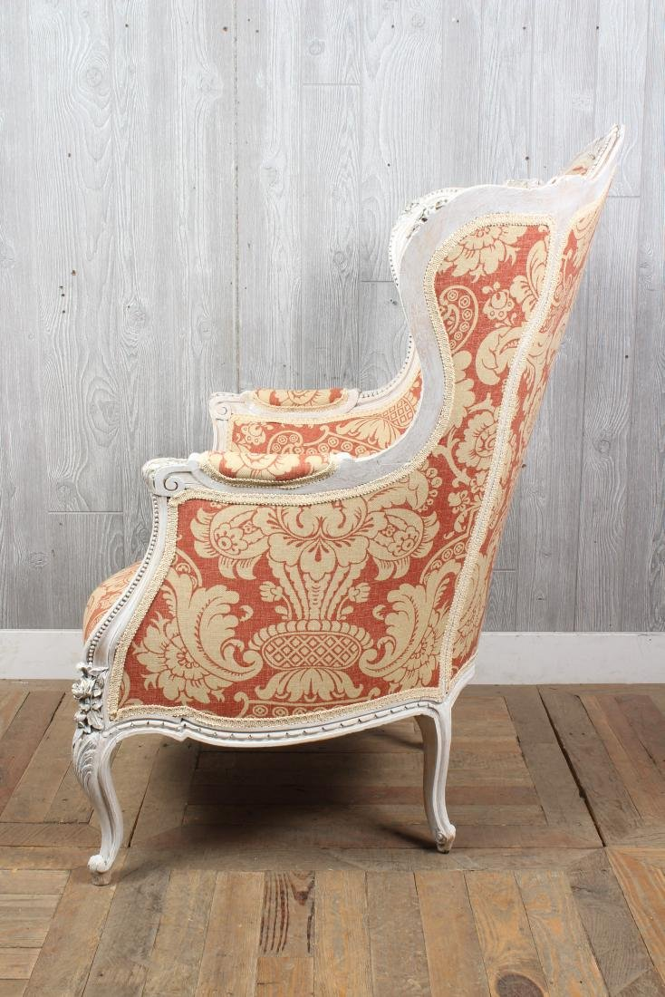 Louis XV Style Wingback Bergere - 4