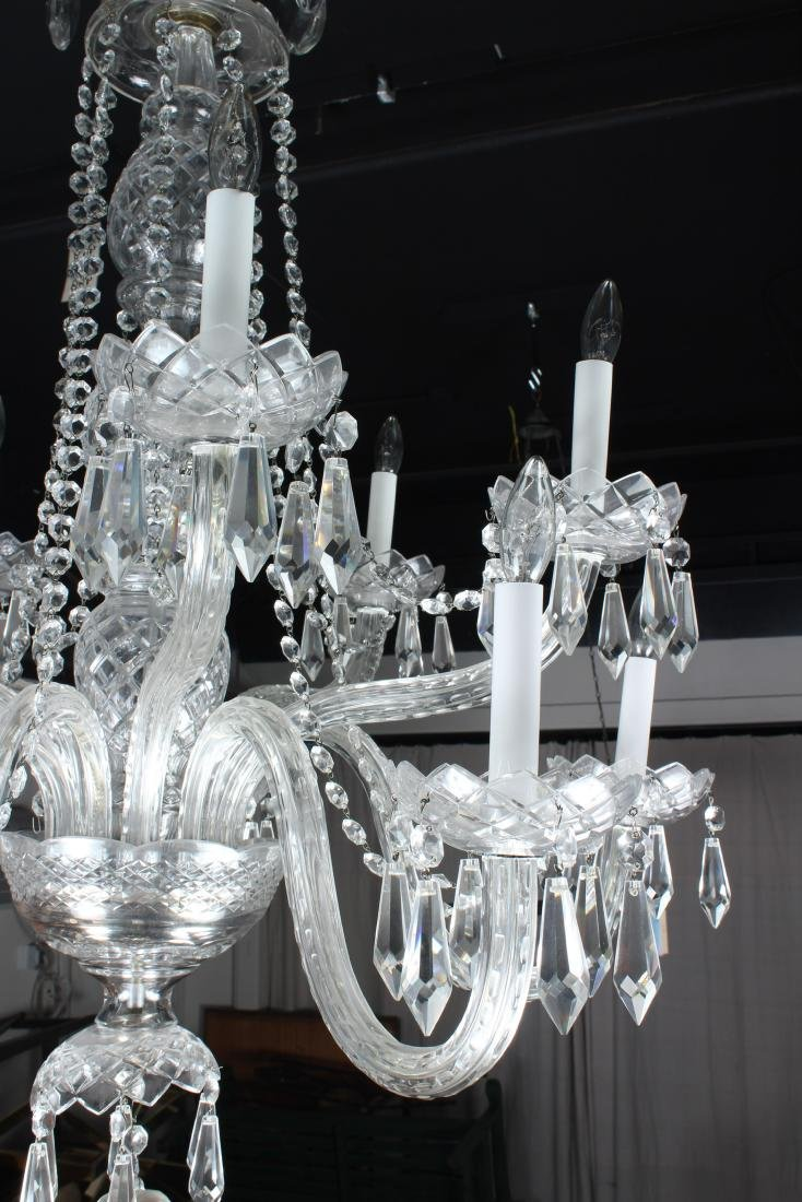 Cut Crystal Chandelier - 2