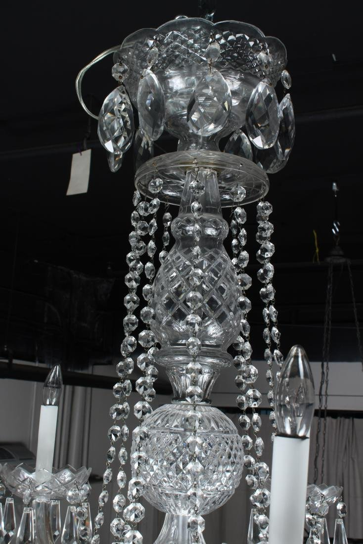 Cut Crystal Chandelier - 3