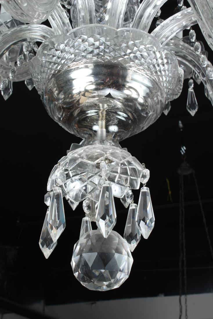Cut Crystal Chandelier - 4