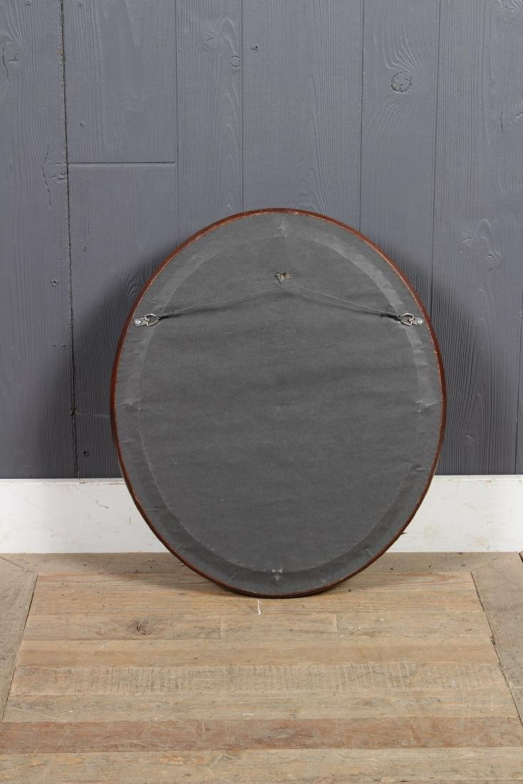 Antique Deep Cove Molded Wood Framed Mirror - 6