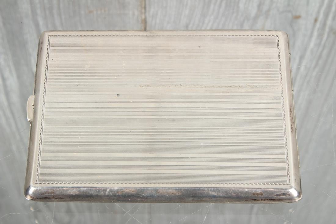 900 Silver Czechoslovakia Cigarette Case - 2