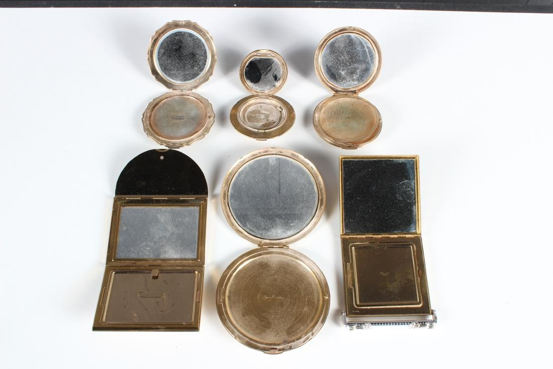 Grouping of 6 Vintage Compacts - 2
