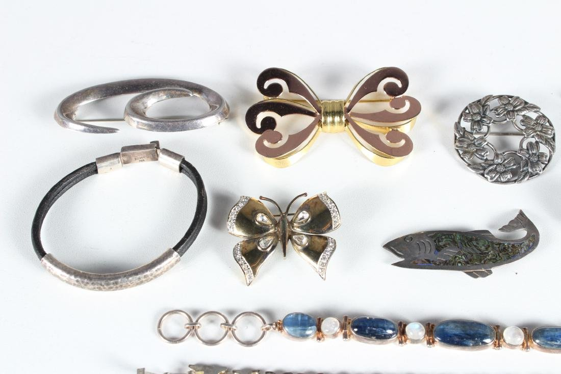 Assorted Vintage Sterling Jewelry - Some Signed - 2