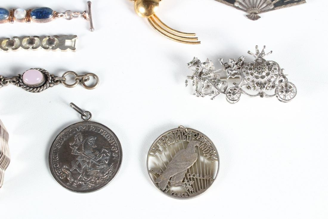 Assorted Vintage Sterling Jewelry - Some Signed - 4