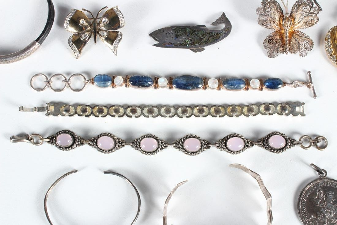 Assorted Vintage Sterling Jewelry - Some Signed - 5