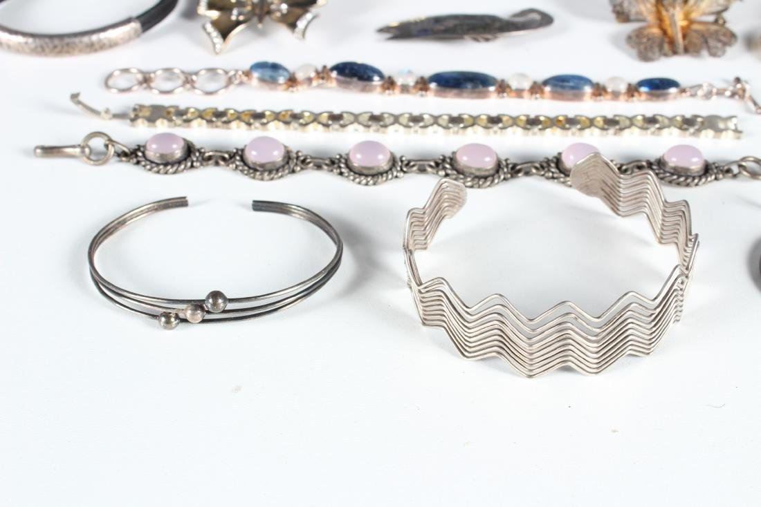 Assorted Vintage Sterling Jewelry - Some Signed - 6