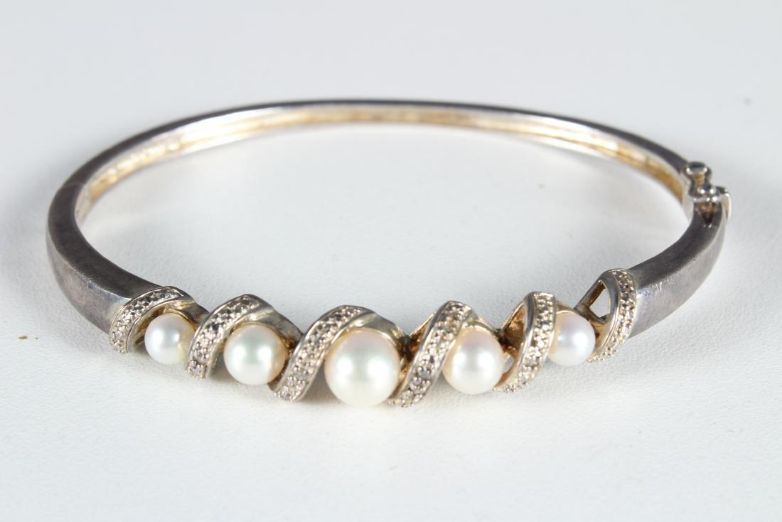 5 Sterling Silver Bracelets - 3