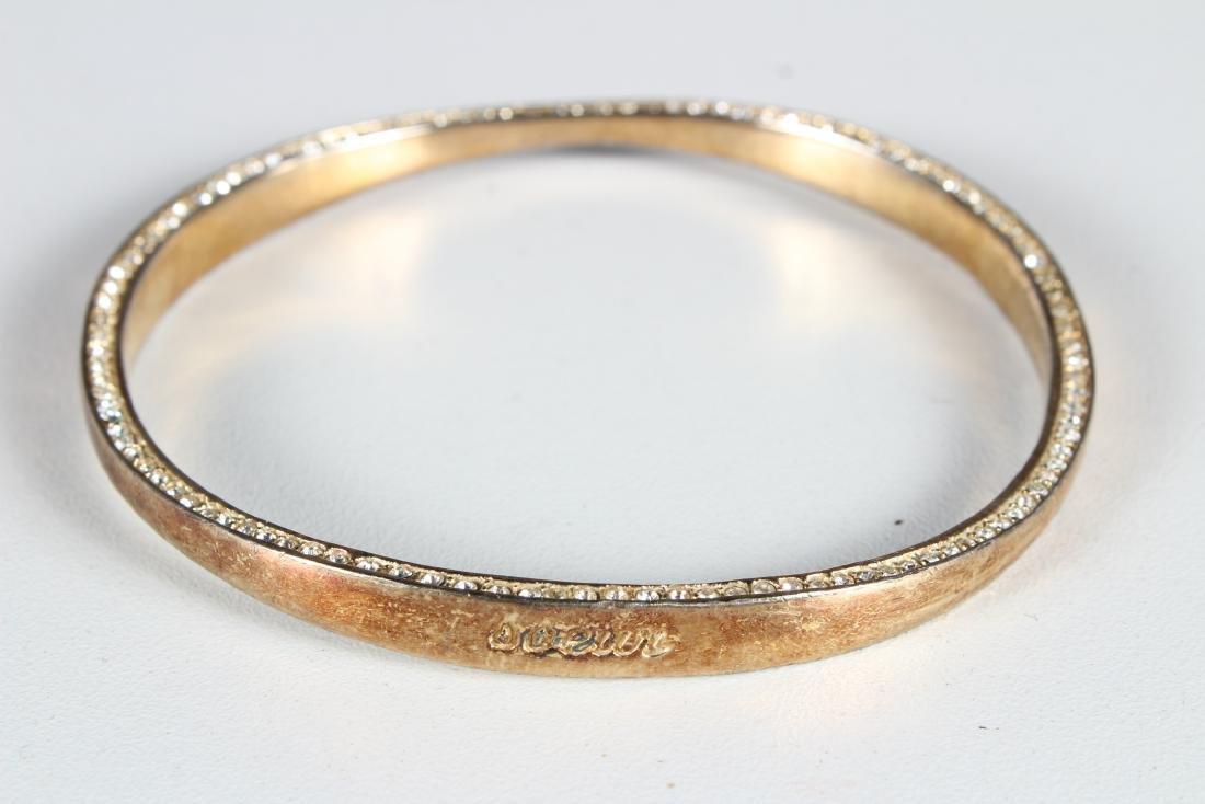 5 Sterling Silver Bracelets - 4
