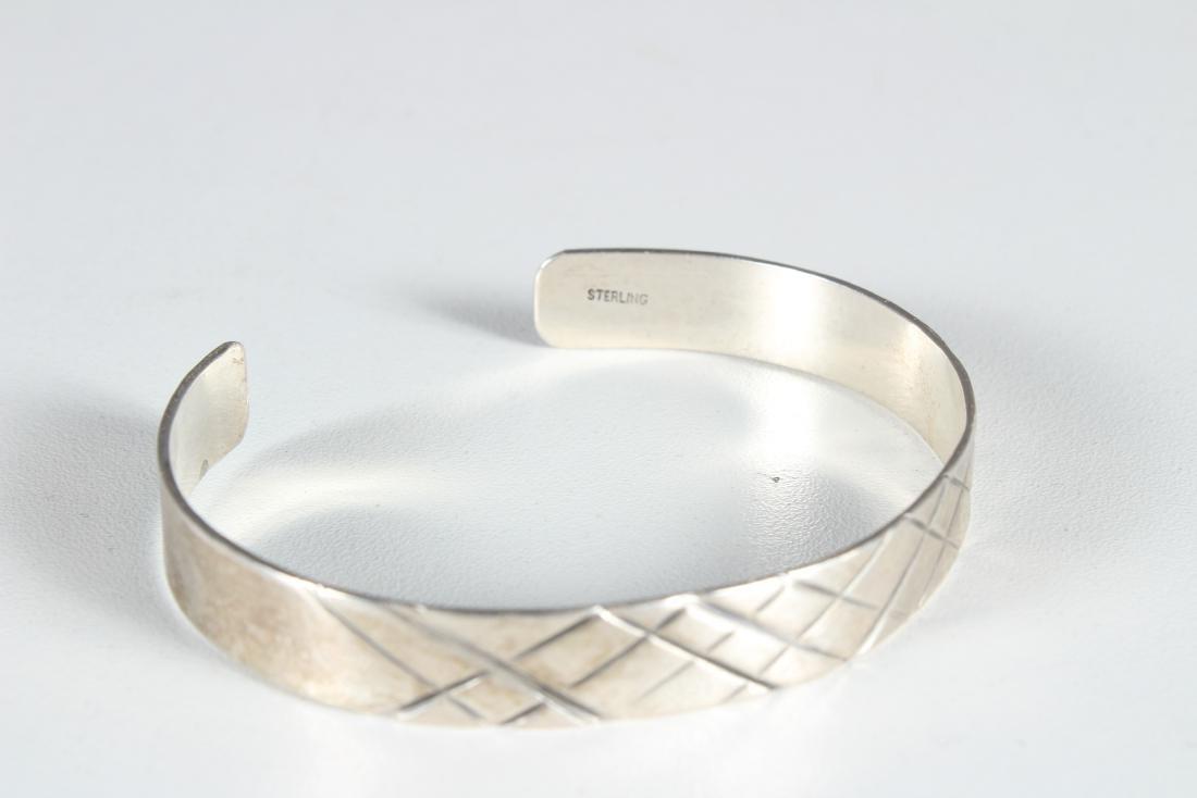 5 Sterling Silver Bracelets - 5