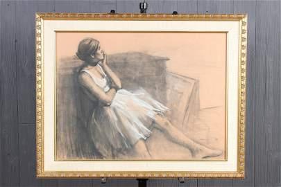 Burton Silverman (b. 1928) Ballerina