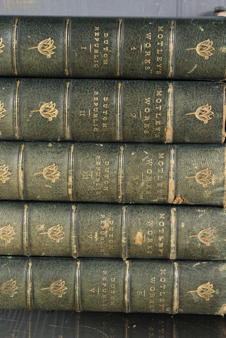 17 Volumes of Motley's Works - 2
