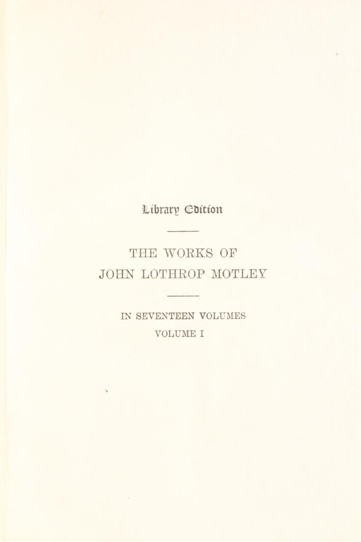 17 Volumes of Motley's Works - 7