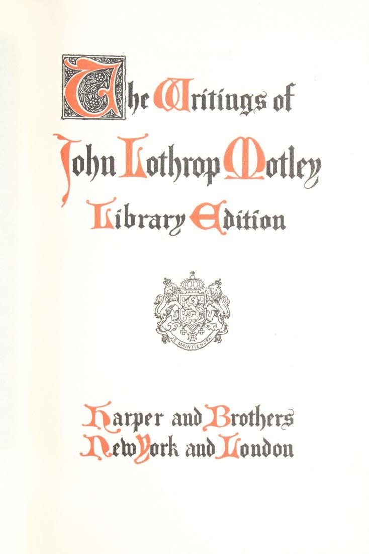 17 Volumes of Motley's Works - 8