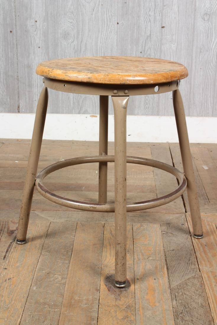 6 Industrial Stools - 3