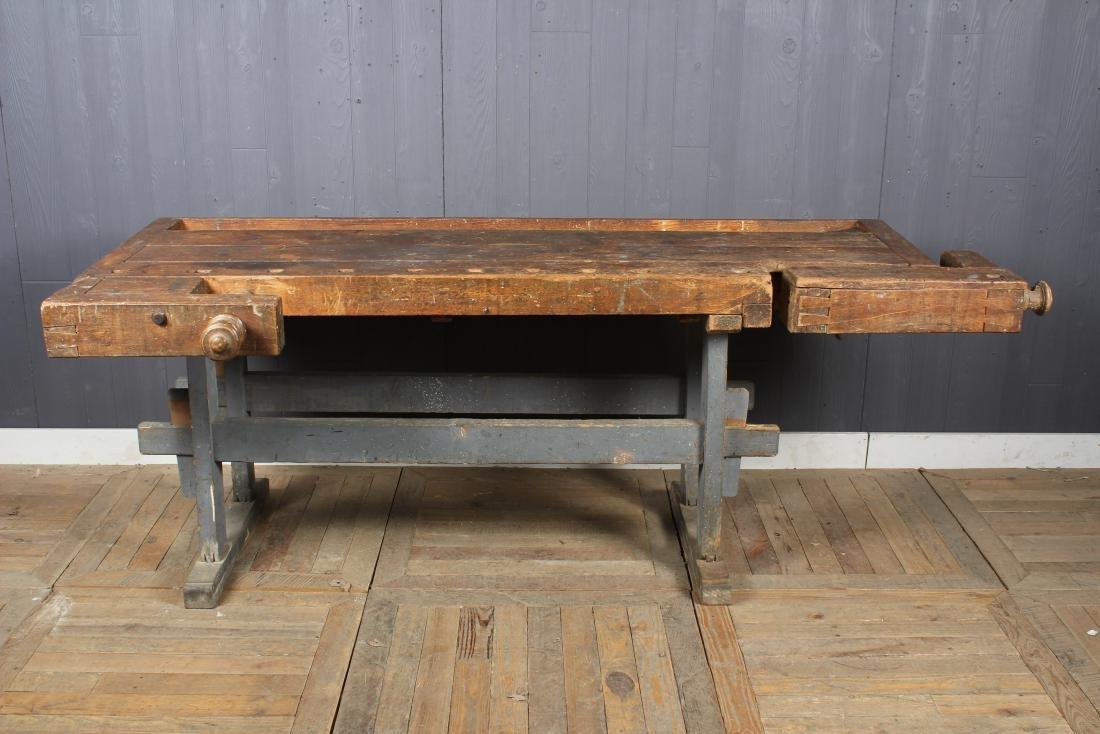 Vintage Carpenter's Bench - 2