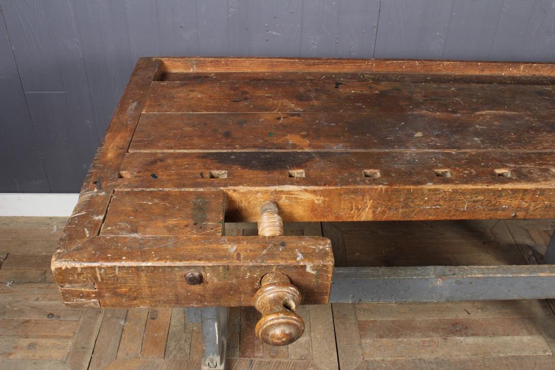 Vintage Carpenter's Bench - 3