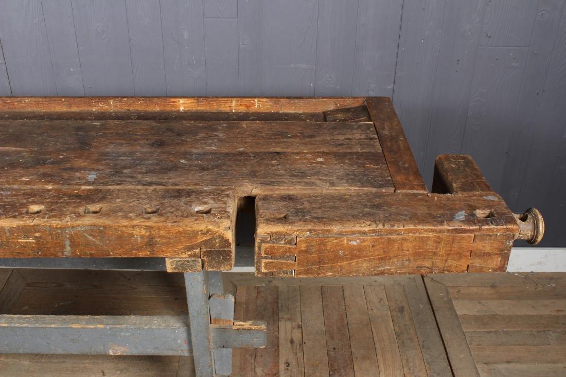 Vintage Carpenter's Bench - 4